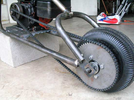 Mini Chopper Frame Mini chopper frame plans and