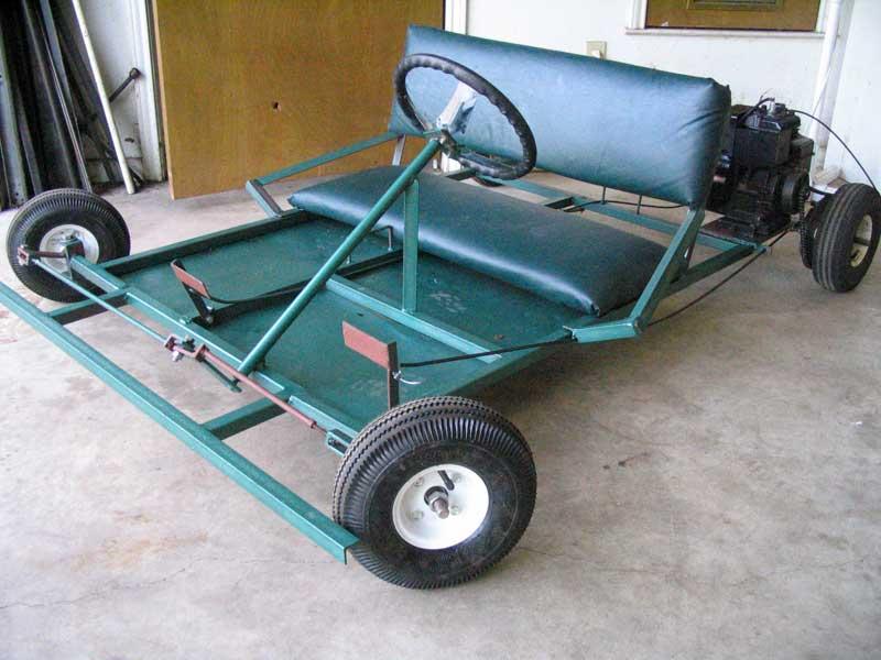 go kart frame. Go Kart Two Seater Frame Plans