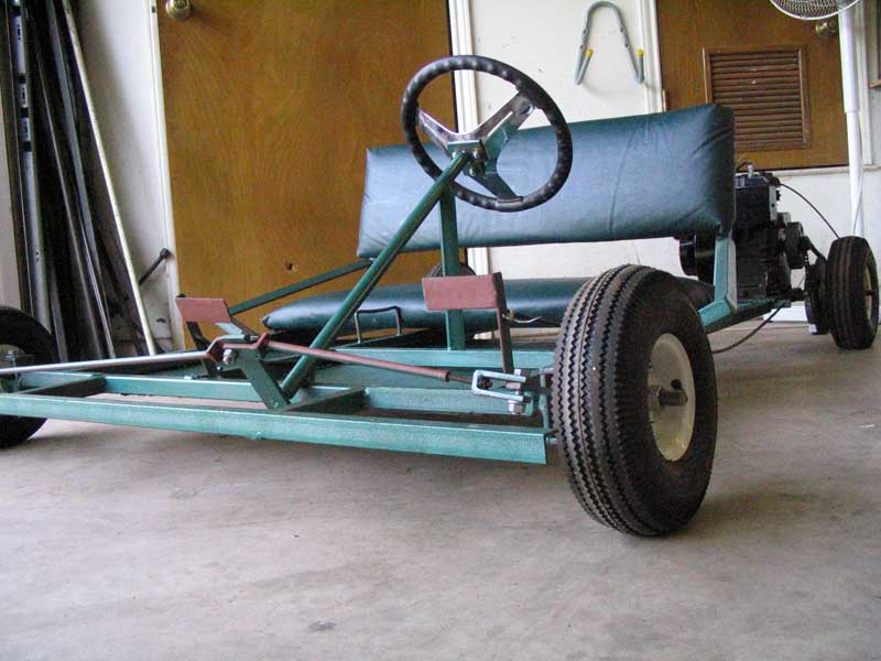 Homemade Wooden Go Kart Plans